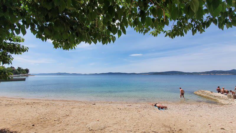 best beaches zadar croatia