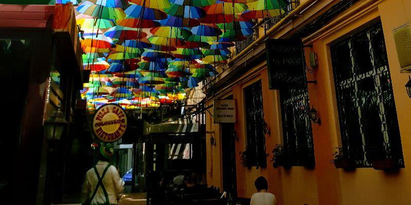 umbrella passage bucharest secret places